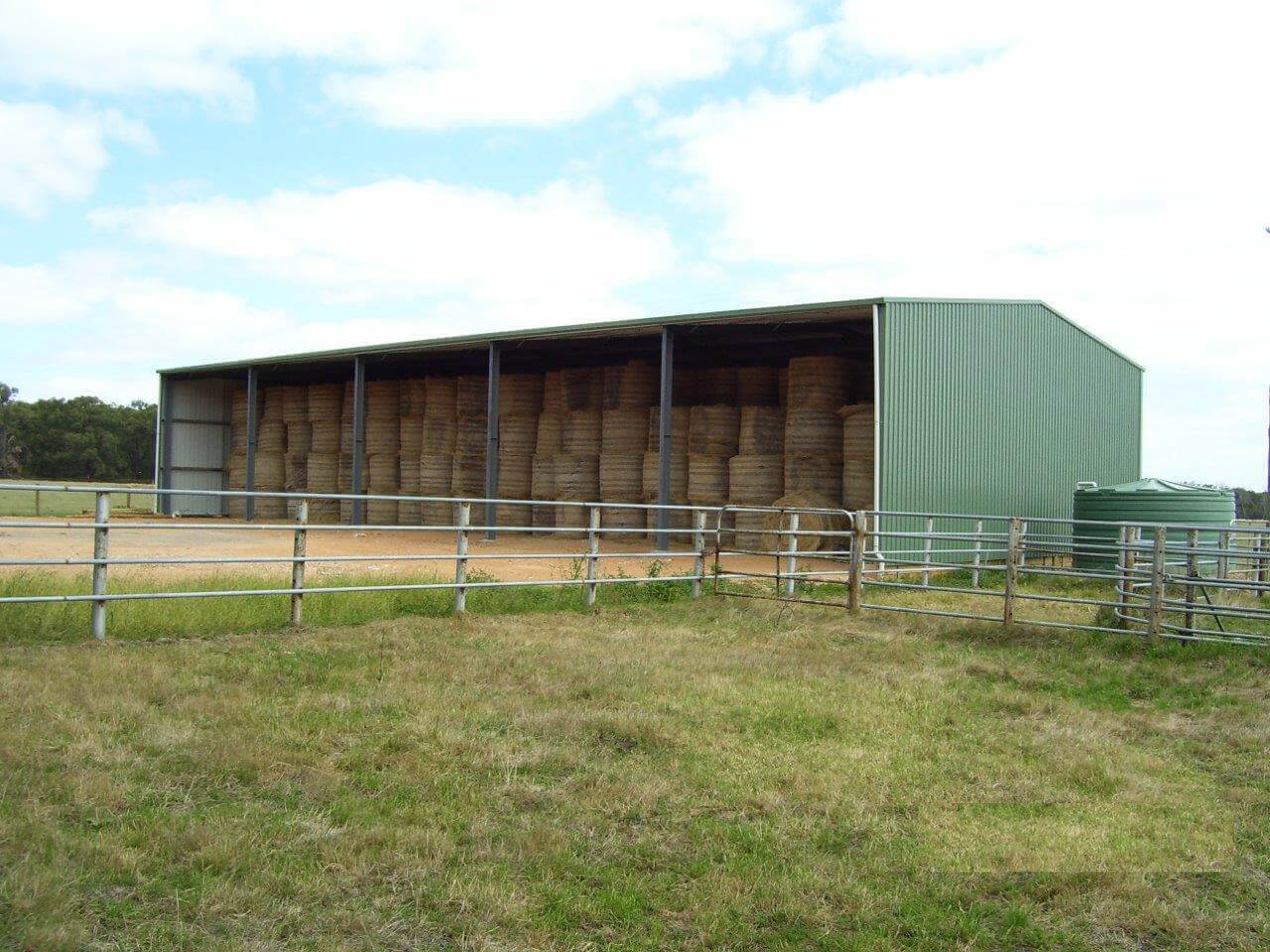 Gallery a line building systems for Hay shed plans